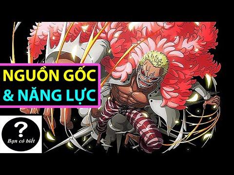 Nguồn Gốc và Năng Lực của Doflamingo (One Piece) |Bạn Có Biết?