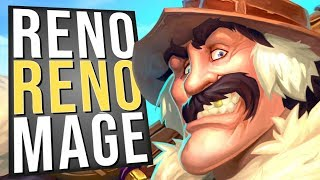 Reno Reno Mage! My Opponents Win Rates Go Poof! | Standard | Hearthstone