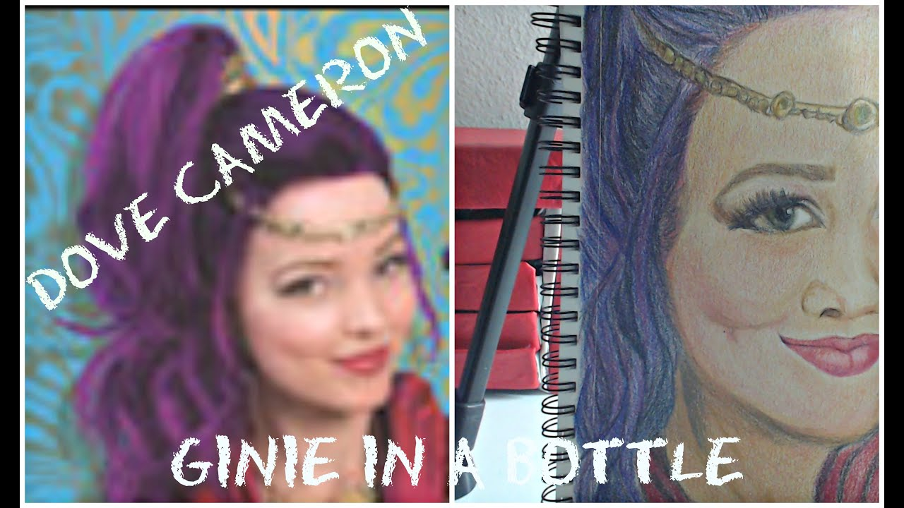 Realistic Genie Drawing
