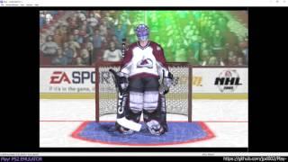 Play! PS2 Emulator - NHL 2002 Ingame (20160911)