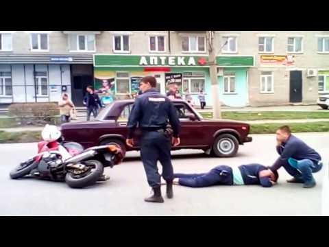 Авария на перекрестке в Куйбышеве