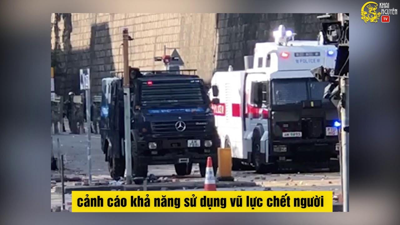 Tin Hong Kong cập nhật 17/11: Cảnh sát triển khai vũ khí mới. Đài Loan tổ chức hòa nhạc ủng hộ HK