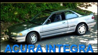 Acura Integra Обзор Тест Драйв Honda Хонда Интегра Комплектация Grand Sport Ручная...