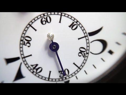Часы Павелъ Буре. Бегущий бриллиант. The running diamond watch.