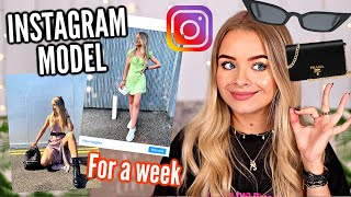 I DRESSED LIKE AN INSTAGRAM MODEL FOR A WEEK...AD