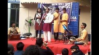 Kabir Kala Manch (Sheetal Sathe) Live Press Club Of India (7th February 2016)