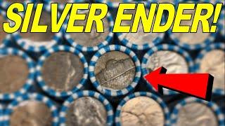 Silver War Nickel Ender! - $100 Nickel Roll Treasure Hunt