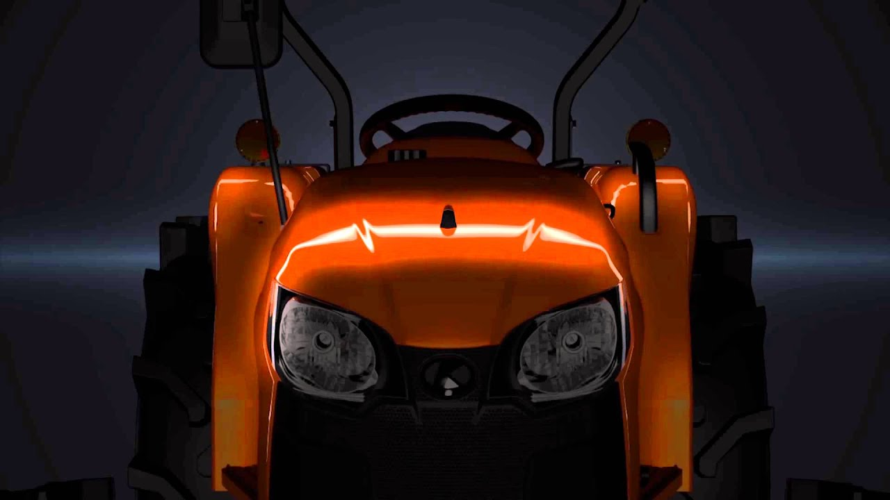 Tractor Kubota L Powering The Future The Real