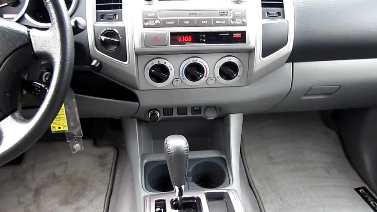 2011 Toyota Tacoma, Black   Stock# H1972A   Interior