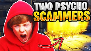 Two Psycho Kids Nearly Scams Me! (Scammer Gets Scammed) Fortnite Save The World