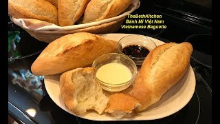 How to make perfect Vietnamese Baguette by hand for beginner.