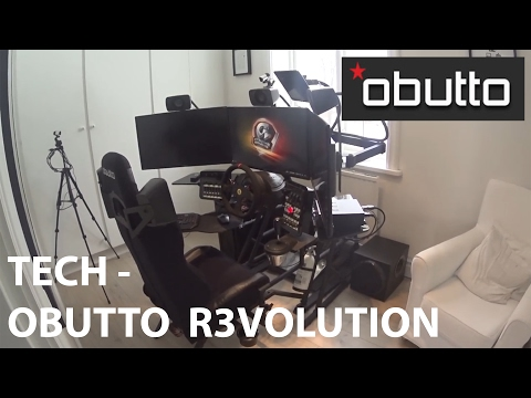 TECH - My Obutto r3volution sim racing cockpit (OUTDATED