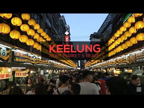 Keelung Night Market & Beach | TAIPEI, TAIWAN
