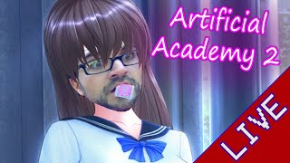 [Livestream] Artificial Academy 2 - Bane is stealing our waifus!