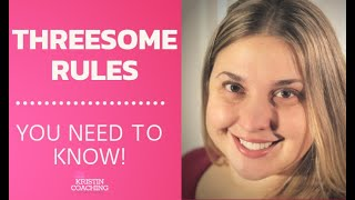 Establishing Threesome or (Menage A Trois) Rules With Your Spouse