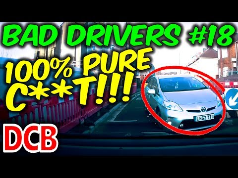 UK Dash Cam - Bad Drivers Of Bristol #18