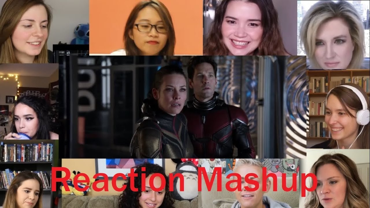Ant Man & The Wasp Trailer 2 All Girls REACTION MASHUP