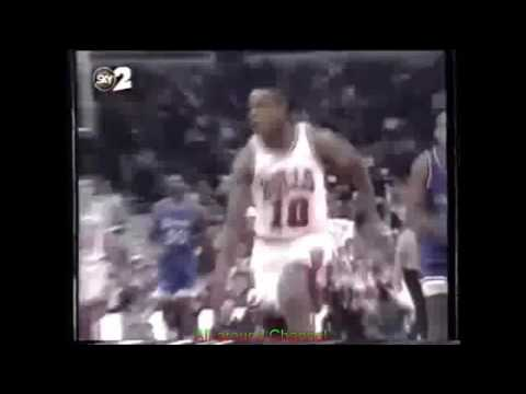 B. J. Armstrong 23 Points 3 Ast Vs. Orlando Magic, 1994-95.