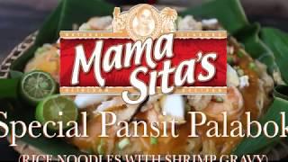 Special Pansit Palabok using Mama Sita's Palabok Mix