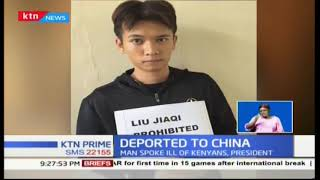 Chinese national deported over racist rant