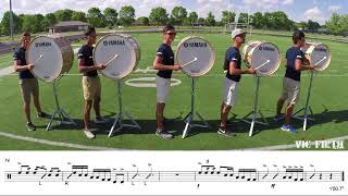 "2018 Blue Stars Basses - LEARN THE MUSIC to ""The Once and Future Carpenter"""