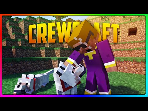 Minecraft Crewcraft - Nice Bush Feller! ;) (Season 3 Episode 6)