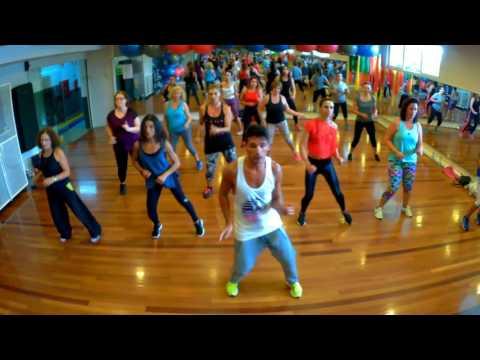 Maluma Ft Marc Anthony Felices Los 4 Salsa Version -choreo