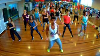 Maluma Ft Marc Anthony Felices Los 4 Salsa Version -choreo