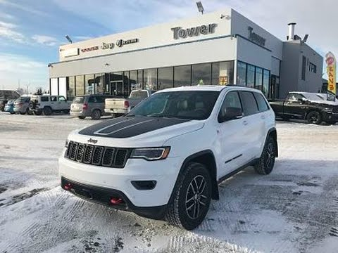 2017 Jeep Grand Cherokee Trailhawk 4x4 H8510 Tower Chrysler Sold