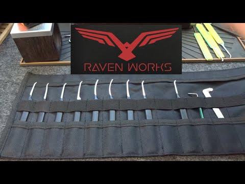 Взлом отмычками    (1216) Review: RavenWorks Signature & 4-Piece Pick Kits