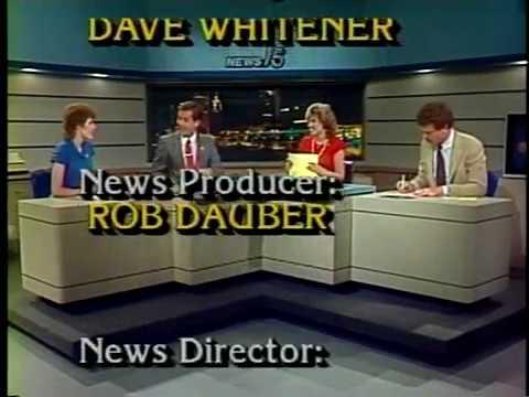July 2, 1985 - Late Fort Wayne, Indiana Newscast (Telescoped)