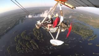 Microlight flight over Victoria Falls - Mosi-oa-Tunya