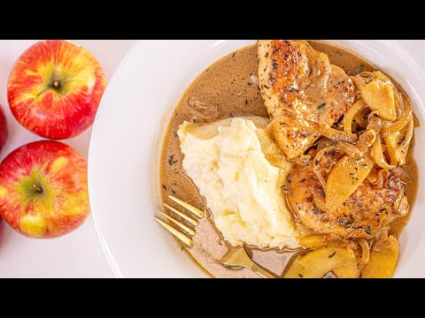 How To Make Cider Chicken With Cream By Rachael