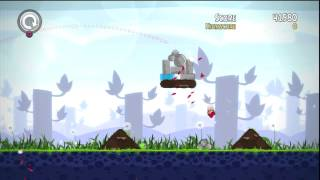 Angry Birds Trilogy PS3 HD level 1 14 3 Stars