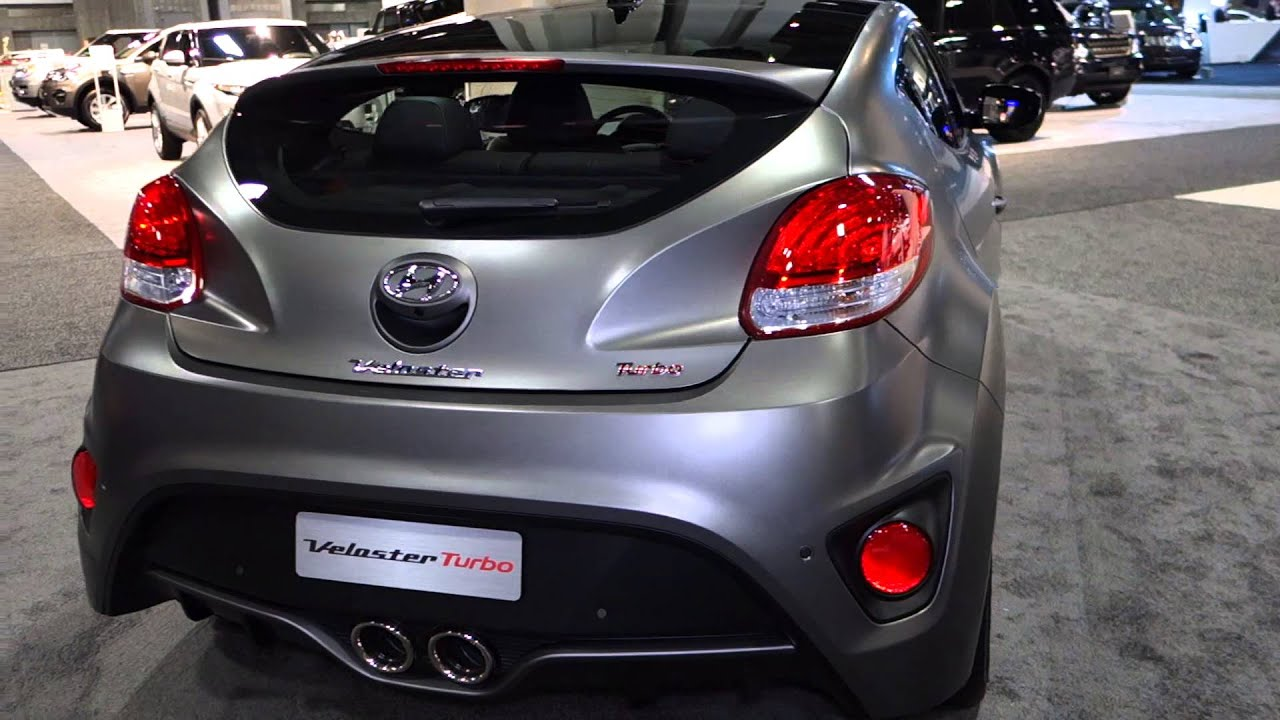2015 Hyundai Veloster Turbo at the 2015 Washington Auto Show - YouTube