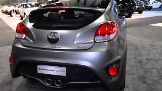 2015 hyundai veloster turbo at the 2015 washington auto show