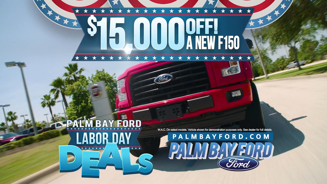Palm Bay Ford >> Palm Bay Ford Labor Day Sales Event Youtube