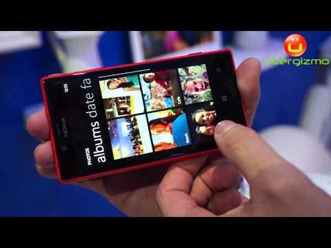 Nokia LUMIA 720 Hands-On (HD)