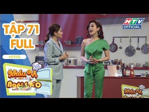 KHẨU VỊ NGÔI SAO | Chồng Lâm Khánh Chi chỉ cho vợ ăn trái cây và uống nước suối | KVNS #71 FULL