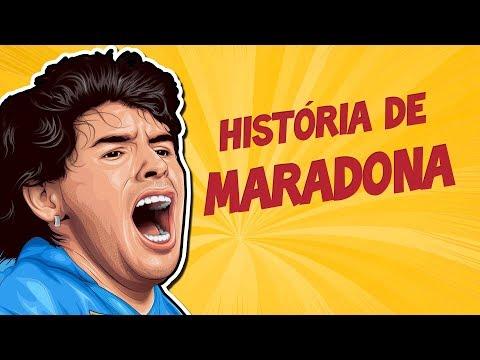 História de DIEGO MARADONA - Da miséria até a glória