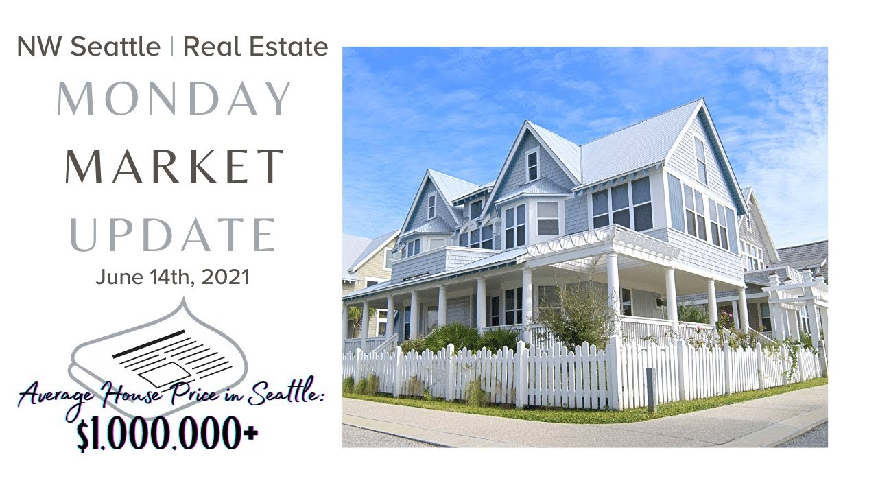 Monday NW Seattle Real Estate Market Update | June 14th, 2021