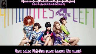 Download 4Minute - Badly - Sub. Español - (Rom-Han) MP3 song and Music Video