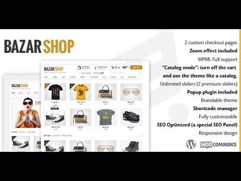 Download 'Bazar Shop' Multi-Purpose e-Commerce Wordpress Theme