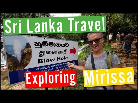 Sri Lanka Travel Vlog #6 Exploring Mirissa