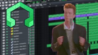 How do I Remix the Rick Roll Meme into Epic Future House Music in LMMS