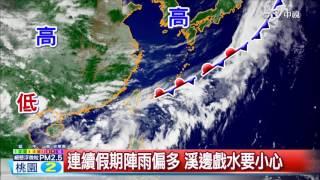 晨間氣象│中視新聞 20160610