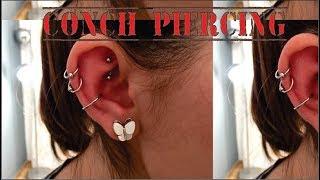Conch Piercing - Captive aço