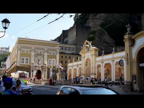 Salzburg . Зальцбург-город сказка.