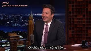 [VIETSUB] Camila trả lời về việc đính hôn với Shawn Mendes trên Jimmy Fallon Show