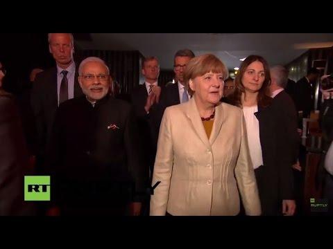 LIVE: Modi and Merkel inaugurate Hannover Messe